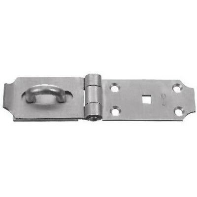 """National Hardware V31 7-1/2"""" Safety Hasp in Stainless Steel"""