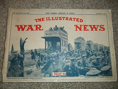 THE ILLUSTRATED WAR NEWS Magazine From WW1 Part 19 - 16 December 1915