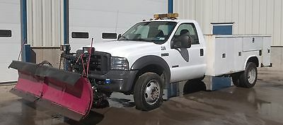 2005 For F-450 Super Duty, Utility Body And V-Plow