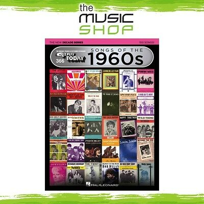 New EZ Play #366 Songs of the 1960s Piano Music Book - New Decade Series 60s