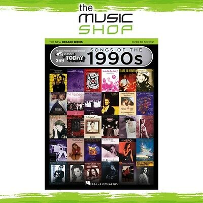 New EZ Play #369 Songs of the 1990s Piano Music Book - New Decade Series 90s
