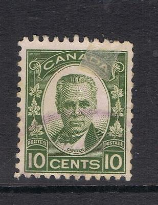 Canada 1931 10 cent Cartier SG 312 Used