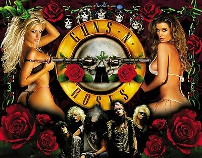 2 Guns N Roses Tickets 7/27 The Dome St. Louis FRONT ROW TERRACE LOGE**443 ROW A