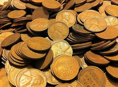 Lot of 500 S MINT Lincoln wheat cents!