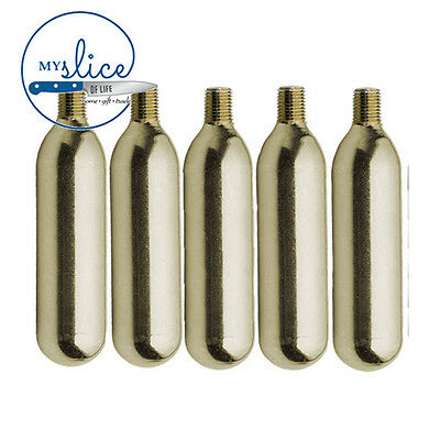 10x 16g CO2 Charger Cartridge / Bulb With Thread - Home Brew / Beer / Brewing