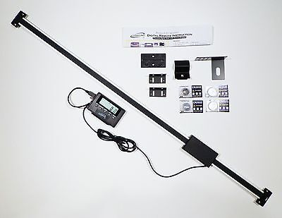 """Igaging 36"""" 850 mm Digital Readout / Read Out DRO w Remote Magnetic LCD display"""