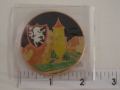 Limited Edition Road's End Geocoin ~ Activated/Adoptable ~ Antique Copper