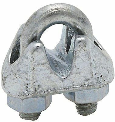 "3230BC 1/8"" Zinc Plated Wire Cable Clamp"