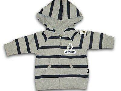 Boys NRL COWBOYS Supporter Zip Up Jumper / Hoodie ~ Size 1 ~ NEW
