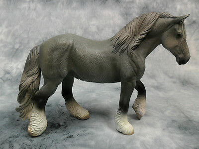 CollectA NIP* Shire Mare - Grey * Realistic Draft Model Horse Figurine Toy 88574