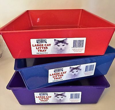 Cat Kitten Litter Tray/Pan Portable Sandbox