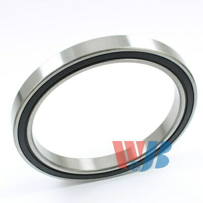 Radial Ball Bearing 6820-2RS With 2 Rubber Seals 100x125x13mm