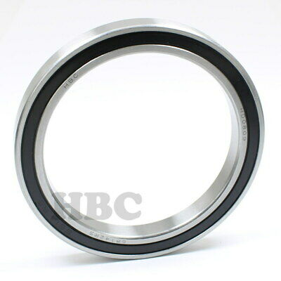 Radial Ball Bearing 6814-2Rs With 2 Rubber Seals
