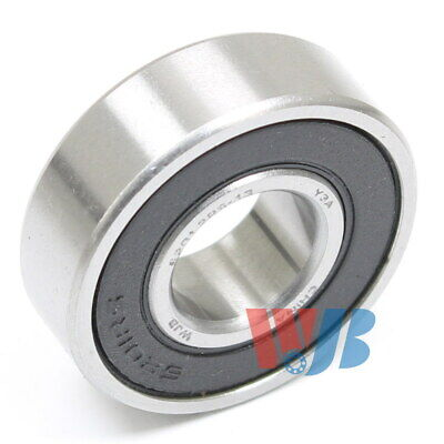 RADIAL BALL BEARING 6201-2RS-13MM WITH 2 RUBBER SEALS 13mm BORE