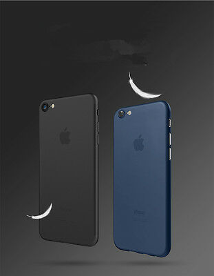 Ultra Thin Matte Transparent Slim Shockproof Back Case Cover For iPhone 7 7 Plus