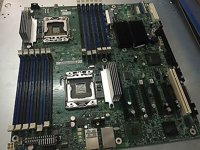 1pcs used  good   S5520HC Intel dual server motherboard  #R435 GY