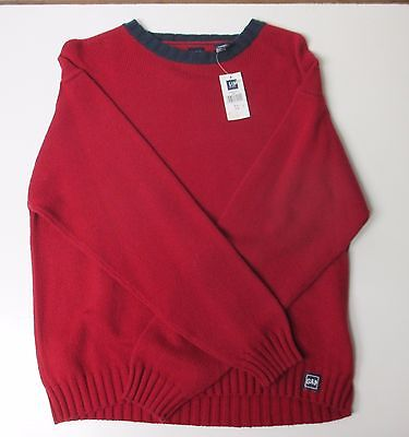 Boys Christmas RED GAP Kids knit sweater Size (12) XL New with Tag