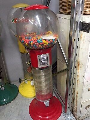 Coin operated USA made Global Spiral Gumball vending machine