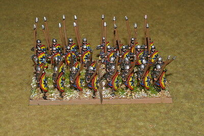 15mm DPS painted Medieval DBM DBA FOG Thermatic Byzantine Skoutatoi ExBz004