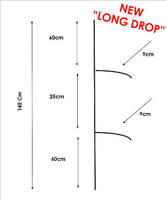 2 Drop Paternoster Rigs. Use Your Own Hooks. EX MELBOURNE. FREE AND FAST POST