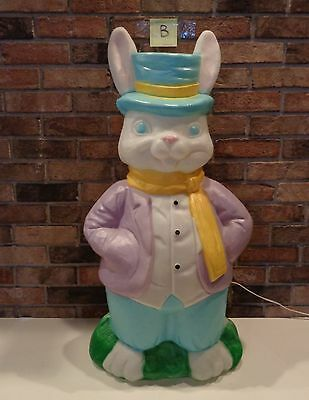 "Excellent Empire 36"" Mr Easter Rabbit Bunny Blow Mold & Cord Lot B"