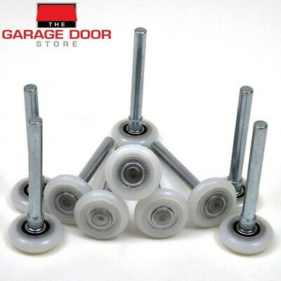 "Garage Door Fully Sealed Roller, 2"" Nylon 13 Ball Bearing Roller - 10 Pack"