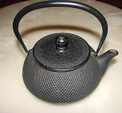 Japanese Antique NANBU old Iron Tea Kettle Tetsubin teapot Chagama