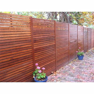 MERBAU DECKING SCREENING FENCING 70x19mm 2.4m to 3.6m $3.25/lm