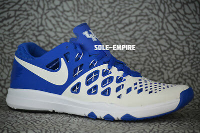 aa48b4aa9d2e Nike Train Speed 4 AMP Kentucky Wildcats UK 844102-411 Game Royal White NEW  DS