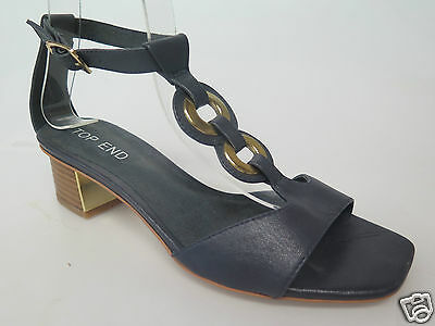 Top End - new ladies leather sandals size 37 / 6.5 #81