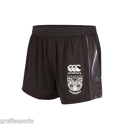 """New Zealand Warriors 2017 Training Shorts Sizes 30"""" - 44"""" NRL CCC In Stock Now!"""