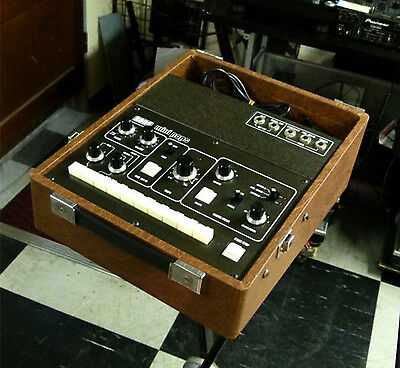 Vintage KORG Mini Pops 120 MINIPOPS drum machine with case EMS Free tracking