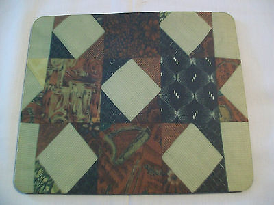 Quilt Print Mouse Pad (New)