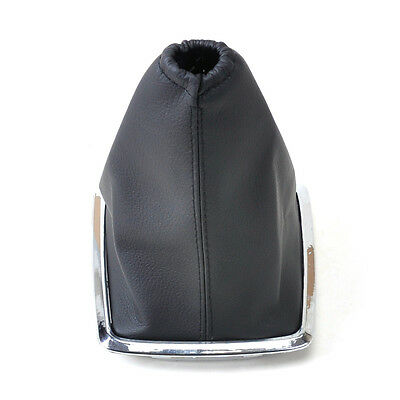 New Black PU Leather Gear Boot Gaiter Cover For 2005-2012 Ford Focus