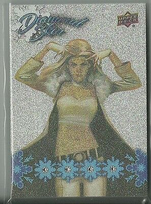 2016 Upper Deck Marvel Gems Exquisite Emma Frost Collection Quad Diamond Skin 15