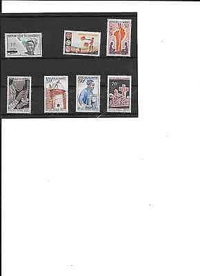 DAHOMEY (BENIN), 1966 Small lot of MNH stamps. CV about $5 (see description)