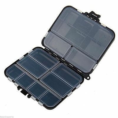Fishing Tackle Box Fishing Accessories Box Tool Storage Case for Lure Bait Hook