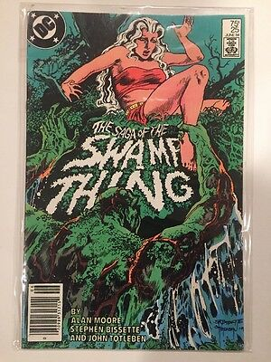 The Saga of the Swamp Thing #25 Comic Book DC 1984