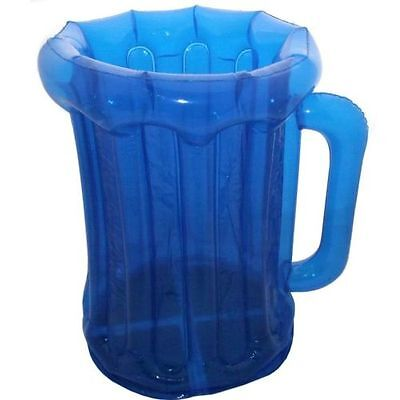 Blue Inflatable Beer Drinks Cooler 50cm - BBQ / Garden Party - Summer - Tropical