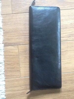 Leather tie carrier/case