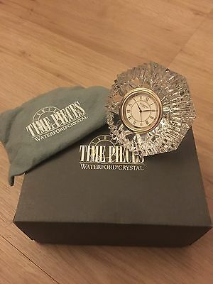 Waterford crystal time piece