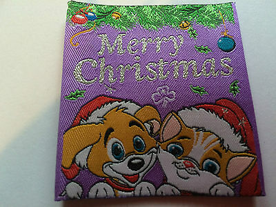 Girl Guides / Scouts Merry Christmas Cat