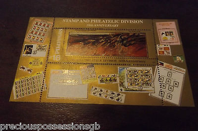 Philippines Mnh Miniature Sheet Mint 1997 Stamp And Philatelic Division 50Th