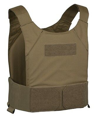 Covert Plate Carrier WARRIOR Elite Ops -Farbe: Coyote Magazintasche: Without