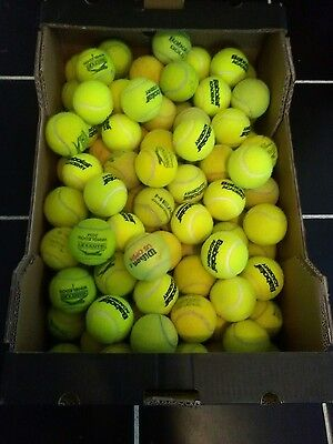 100 mixed brand All Court Used Tennis Balls In Good Condition