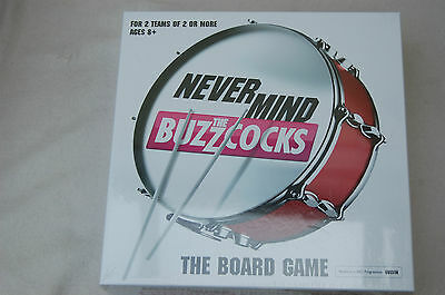 Game Never Mind The Buzzcocks Fun Kids Party Board Games New & Factory Sealed