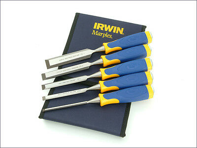 Irwin Marples MS500 All-Purpose Chisel ProTouch Handle Set 5 10503428