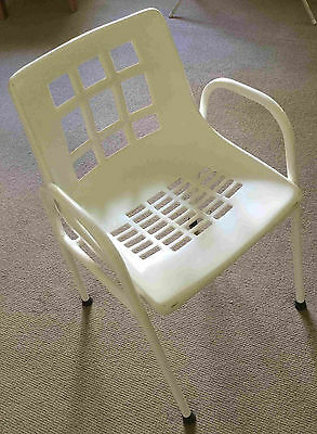 Shower Seat Chair for Elderly or Injured Rehab Solid Seat Mobility Aid
