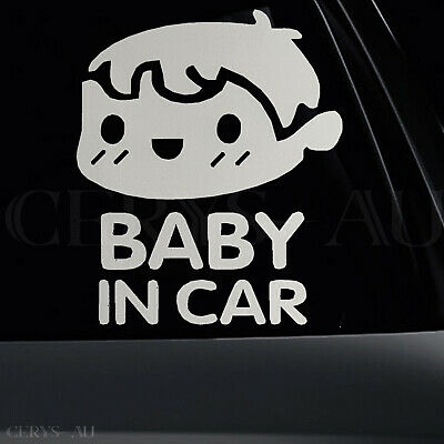 Baby BOY In Car Stickers Reflective Car Vinyl Decal Sign Sticker Sign On Board