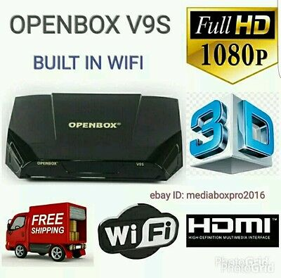 Sale☆Openbox V9S Satelite Receiver + 36 Months Warranty Plug And Play☆Sale